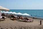 Центральный муниципальный пляж в городе Сухум, Абхазия, отзывы туристов, фотографии